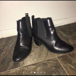 H&M black boots.